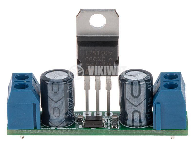 Стабилизатор на напрежение, 10VDC / 1A, 7810 - 3