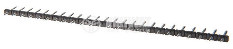 Съединителна рейка, 24 пина, растер 5mm, права  - 1