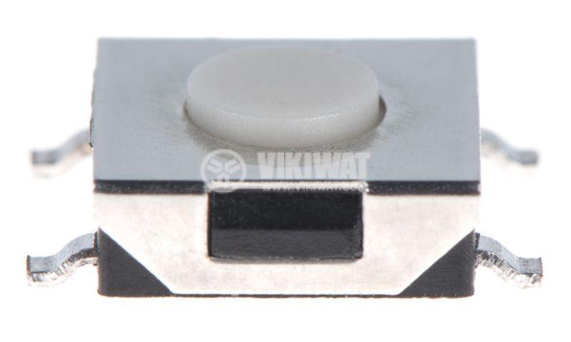 Микробутон, 6.5x6.5x2.5mm, SPST, OFF-(ON), SMD - 1