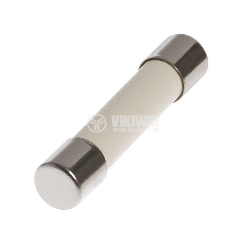 Предпазител ф4x15mm, 0.25A, 250V, керамичен