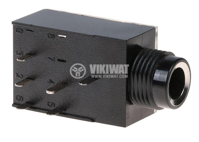 Конектор, 6.3mm - 3