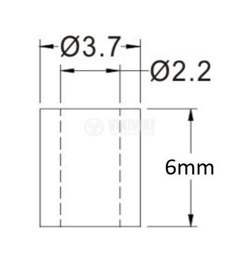 Дистанционна втулка FIX-2-6 - 2