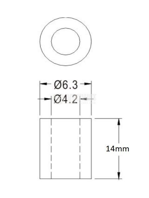 Дистанционна втулка FIX-4-14 - 2