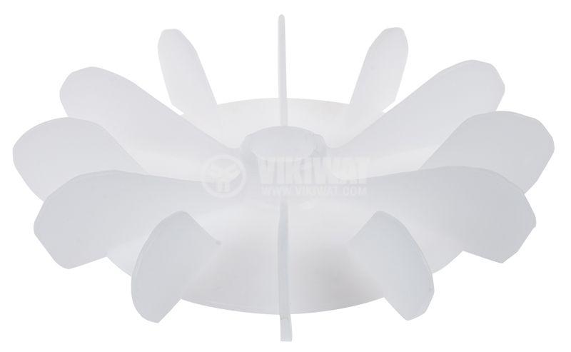 Перка за електродвигател, ф14.5/ф121, бяла - 1