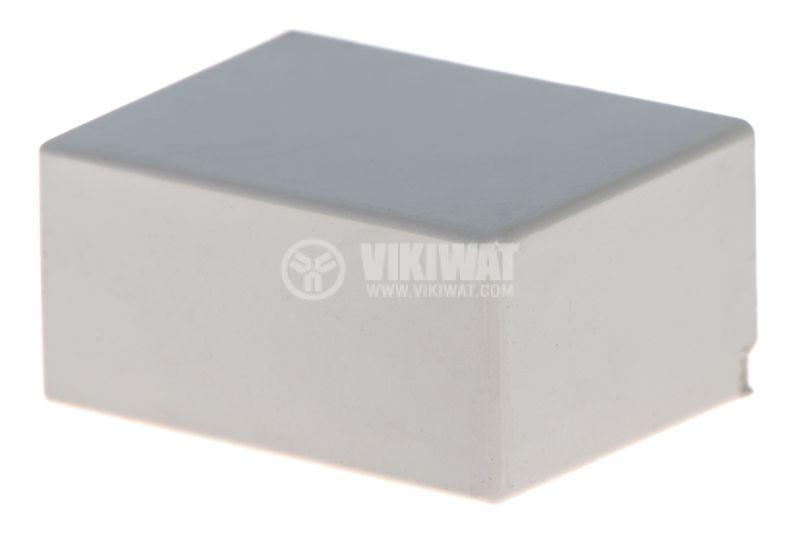 Копче за потенциометър, 15x7.4x11mm, сив - 1