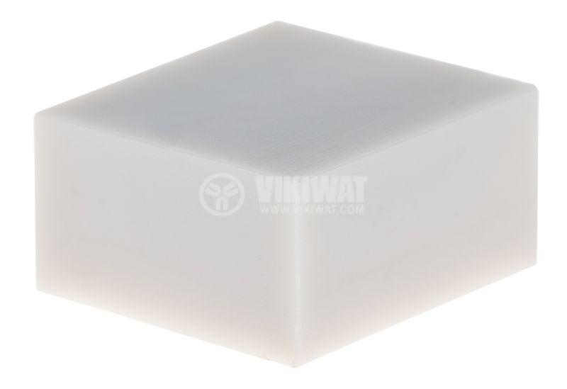 Копче за потенциометър, 10x5.5x11mm, бял - 1