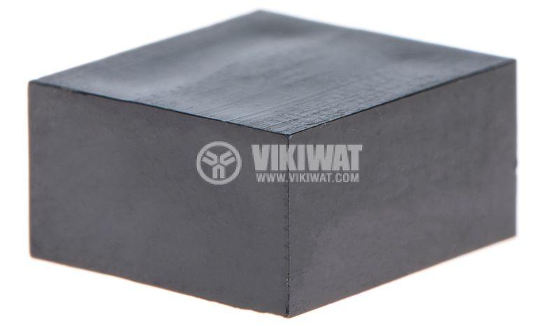 Копче за потенциометър, 10x5.5x11mm, черно - 1