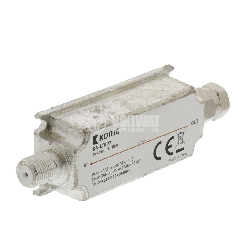 Антенен филтър KN-LTE02, антенен, LTE - 2