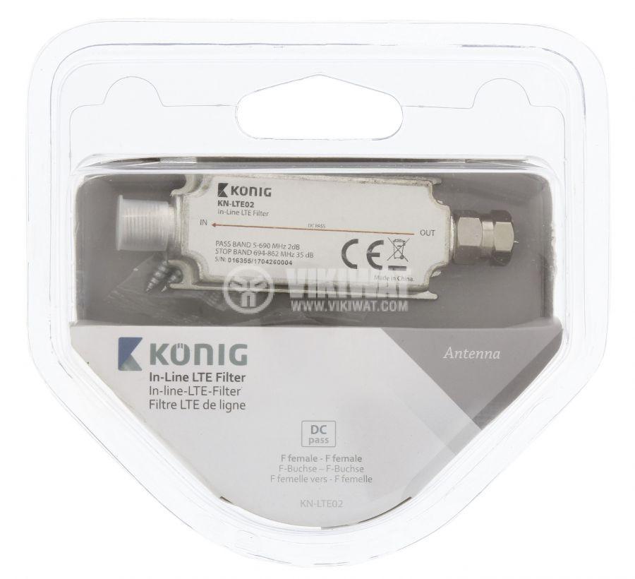 Филтър KN-LTE02, LTE, 694~862 MHz - 4