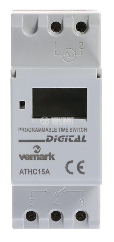 Таймер AHC15A, програмируем, седмичен, - 2