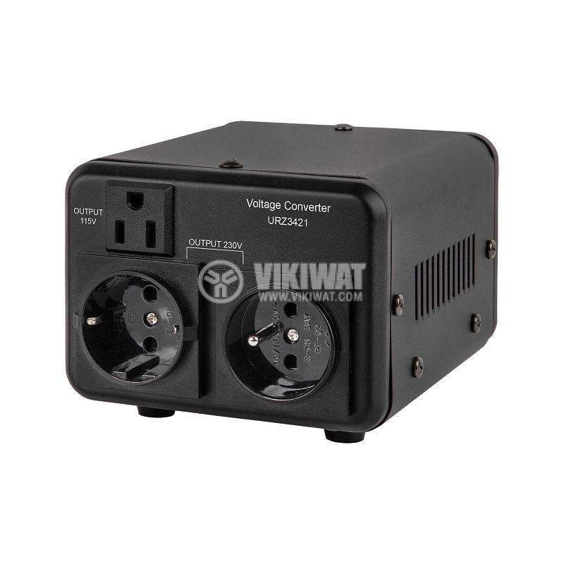 Конвертор URZ3421, 400W, 230/115VAC, AC/AC двупосочен - 1