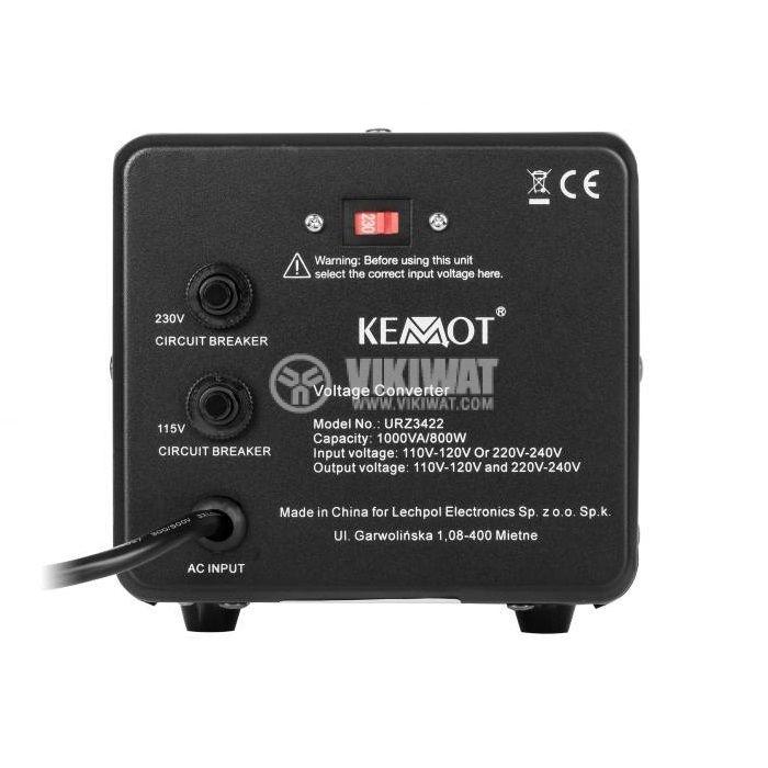 Конвертор URZ3422, 800W, 230/115VAC, AC/AC двупосочен - 2