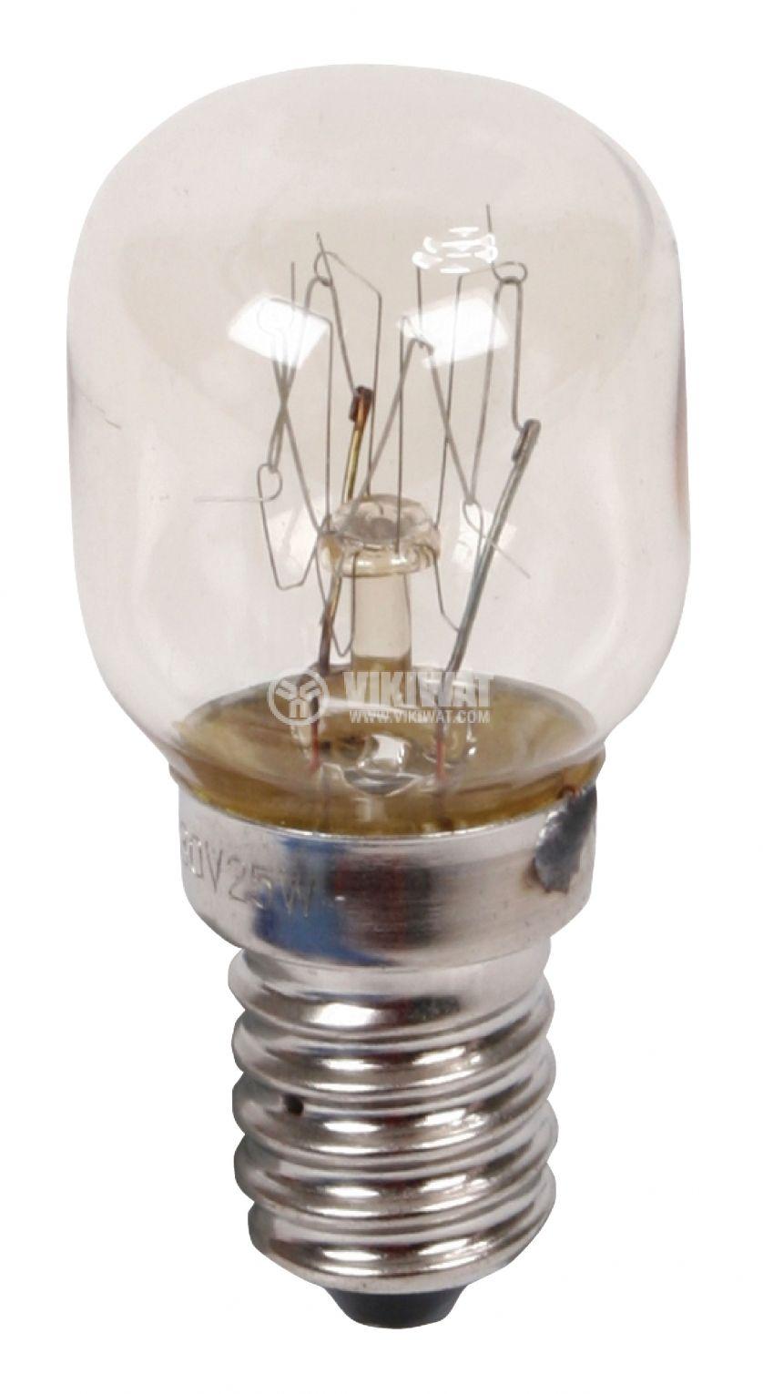 Lamp LAMP R08HQN 220V 25W E14 for refrigerator