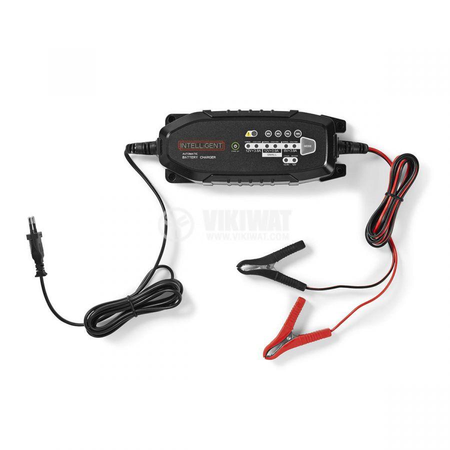 Зарядно устройство за автомобилни акумулатори 6/12VDC, 3.8A - 1