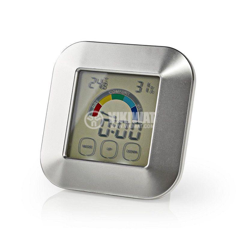Термометър, KATR105SI, за вътрешна температура и влажност, дисплей - 1