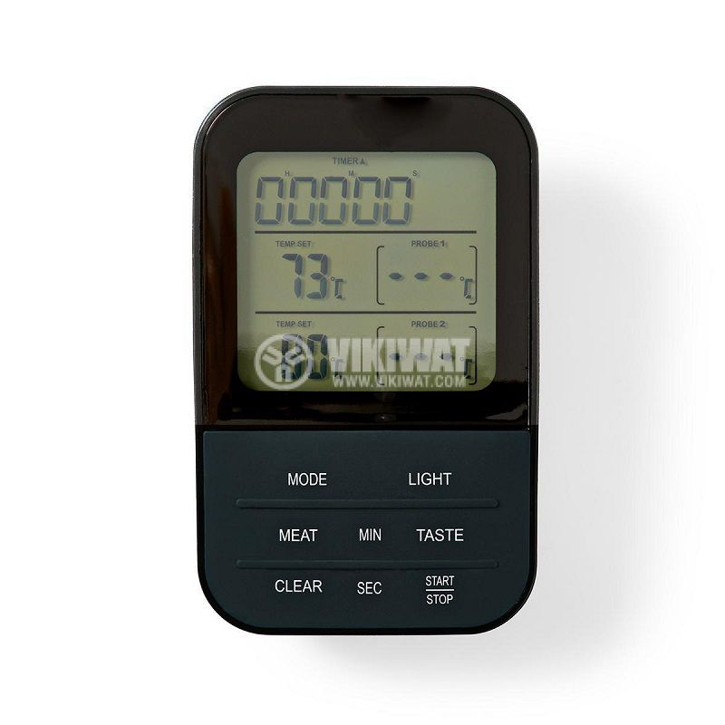 Food Thermometer, KATH107GY, Wireless, two probes, from 0 to 250 °C - 6