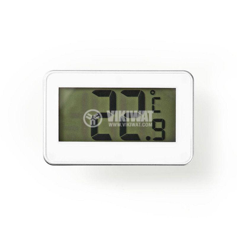 Термометър за хладилник, от -20 до 50°C, KATH101WT, дисплей - 1