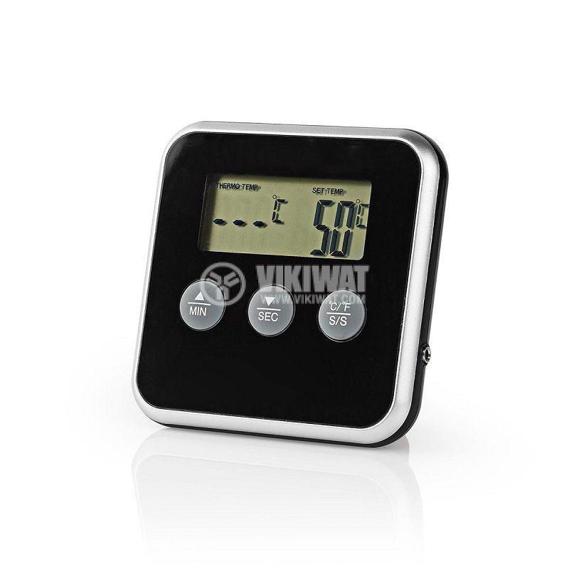Термометър за храна и течности, KATH105BK, от 0 до 250°C - 2
