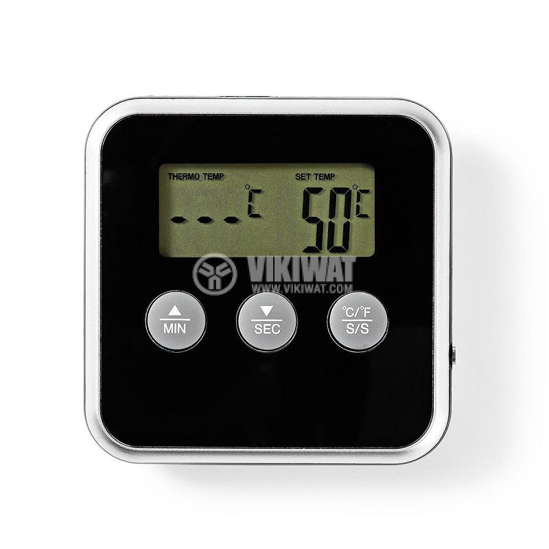 Термометър за храна KATH105BK, от 0 до 250°C - 3