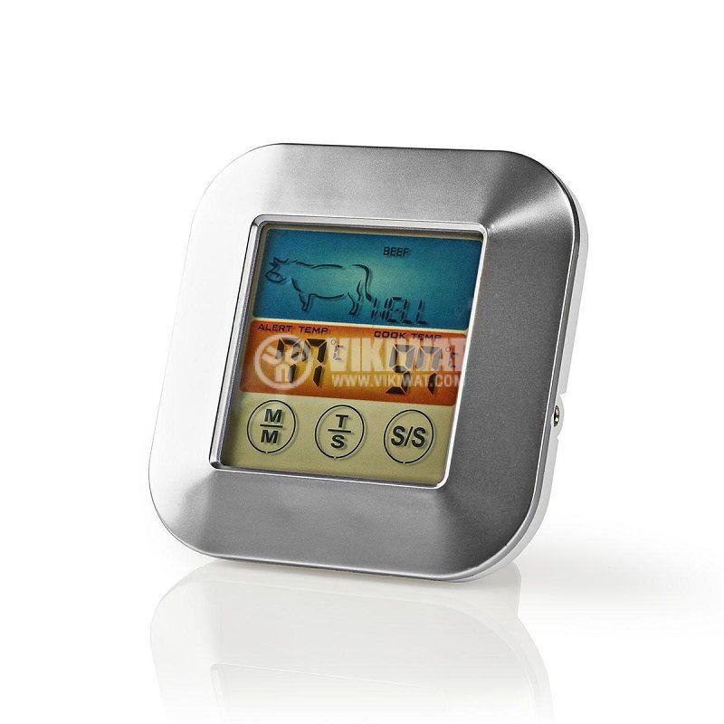 Термометър за храна и течности,  KATH106SI, с таймер - 4
