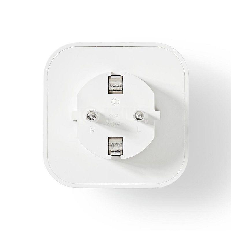 Wi-Fi smart контакт, комплект 3бр., WIFIP130FWT3 - 3