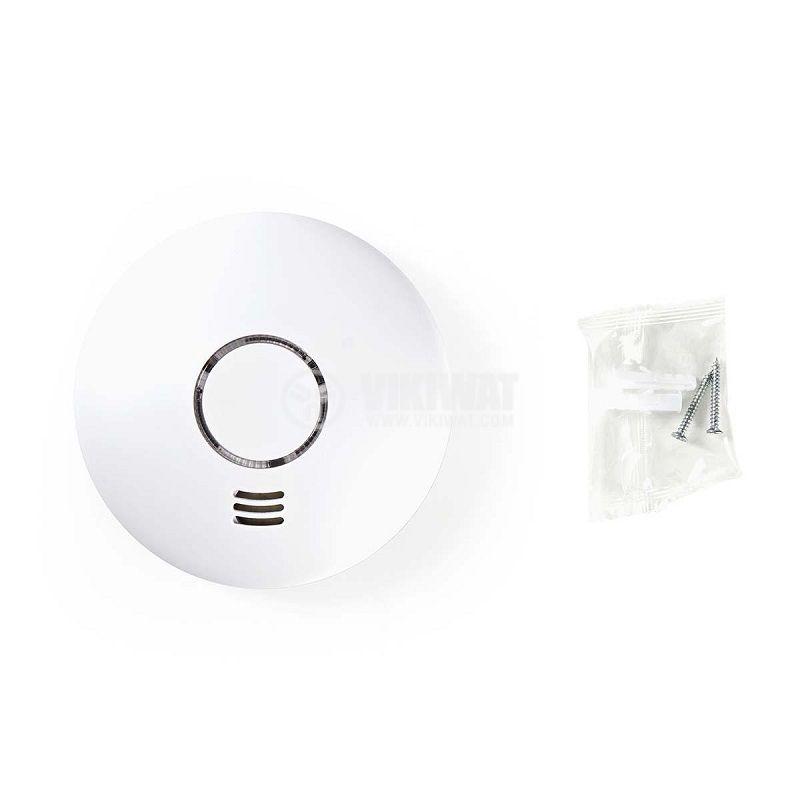 WiFi smart детектор за дим със звукова сигнализация, 90dB - 3