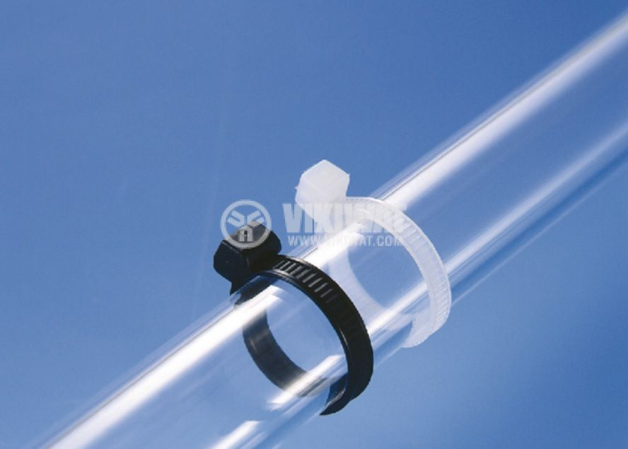 Cable Tie outside serrated 245x4.6 mm, heat stabilised, black, 118-00018 - 3