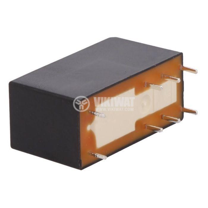 Реле електромагнитно RSB2A080B7, бобина 24VAC, 8A, 250VAC, DPDT, 2xNO+2xNC - 2