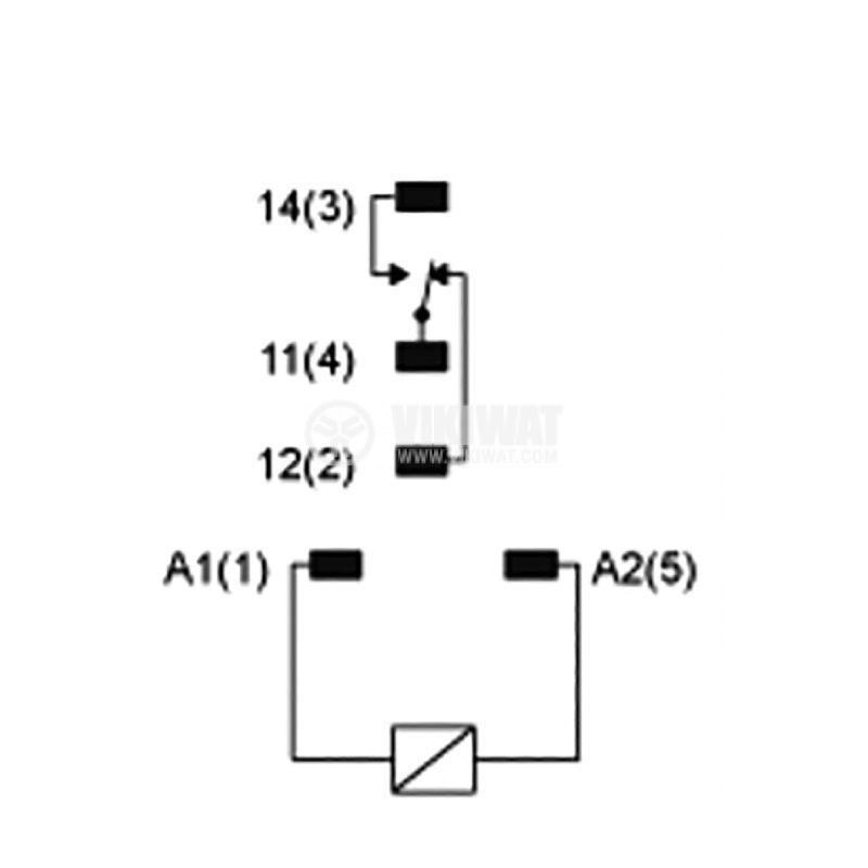 Реле електромагнитно RXG15P7 - 4
