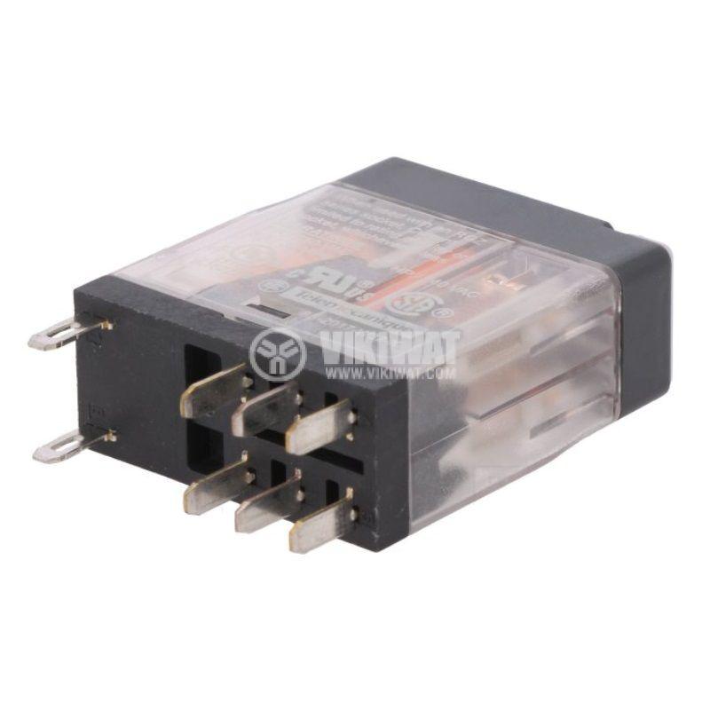 Electromagnetic relay RXG22BD, coil 24VDC, 5A, 250VAC - 2