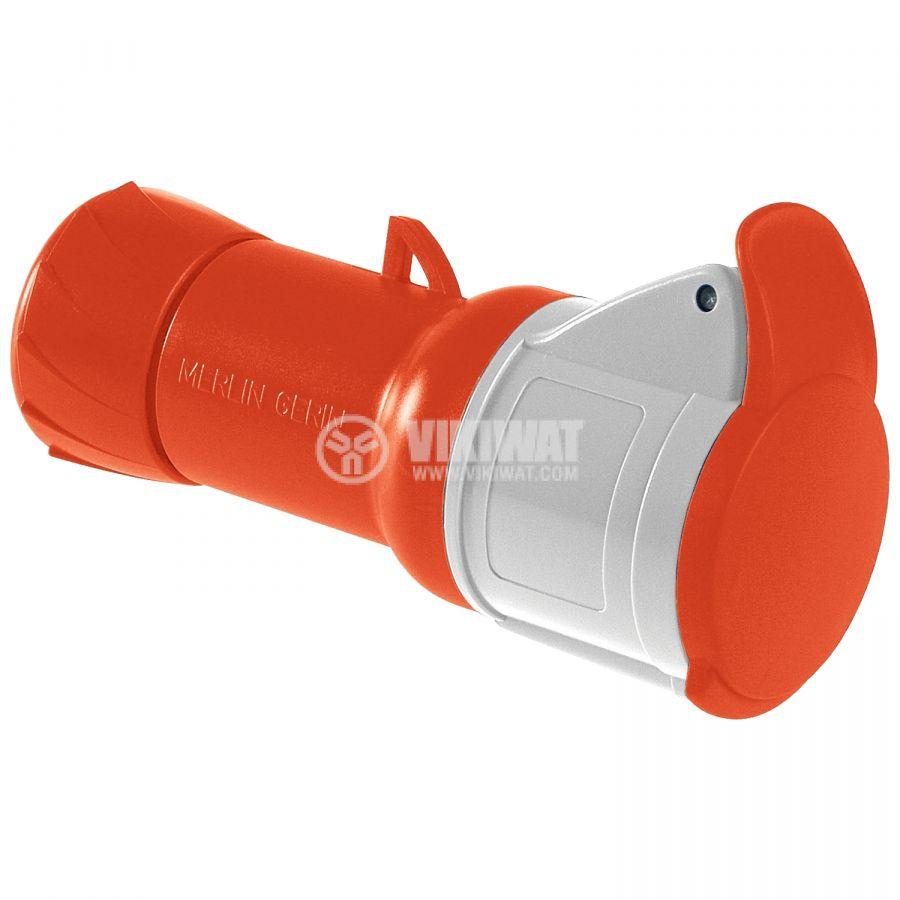 Индустриален съединител 16A 415V 3P+N+E SCHNEIDER PKF16M435