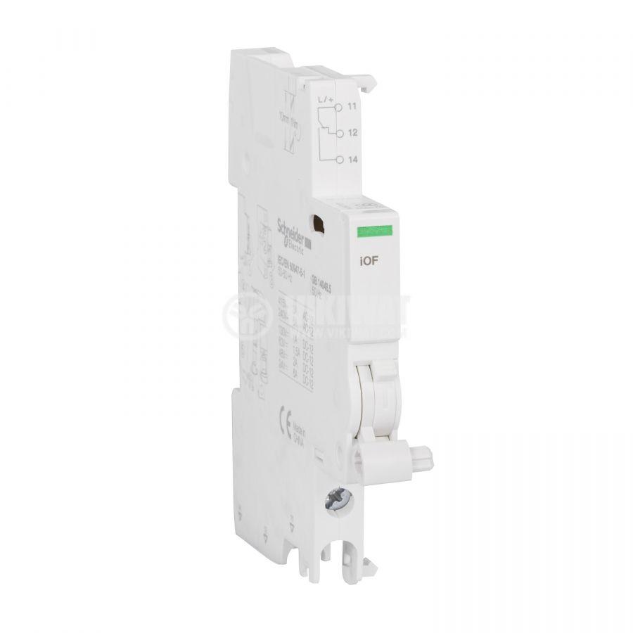 Спомагателен контактен блок 3A/415V SPST NO или NC