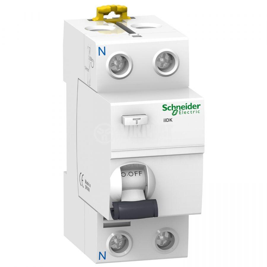 Дефектнотокова защита Schneider A9R50225 240V 25A 30mA