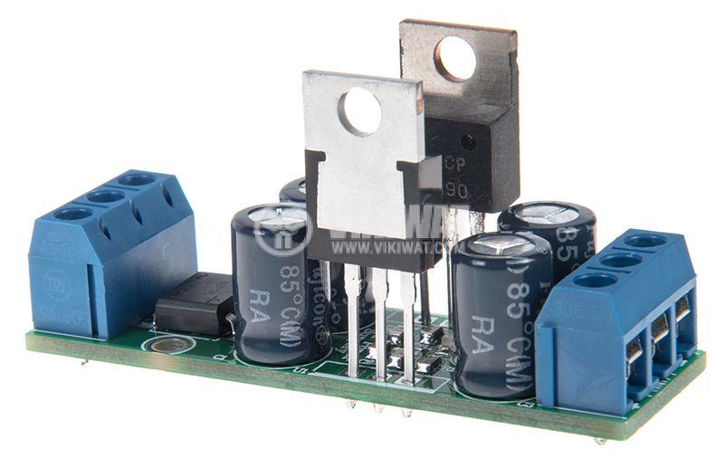 Стабилизатор на напрежение ±12V/1A, двуполярен - 1
