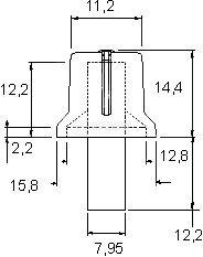 Врътка за потенциометър - 3