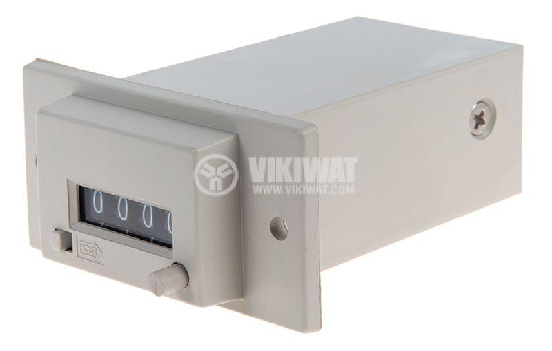 Брояч на импулси електромеханичен CSK4-YKW 220V 0-9999 - 1