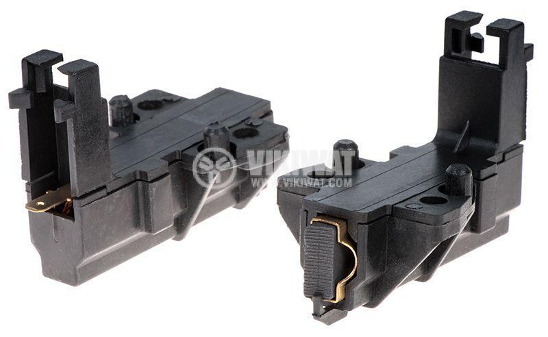 Четкодържател с четка L1/49-003-55, 32x13.5x5mm, с пружина - 1