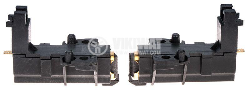 Четкодържател с четка L1/49-003-55, 32x13.5x5mm, с пружина - 3