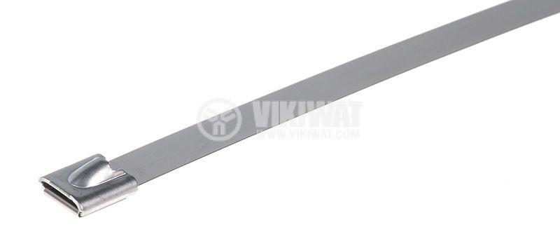 Кабелна превръзка метална BMS5079 500x7.9mm заключване - 1