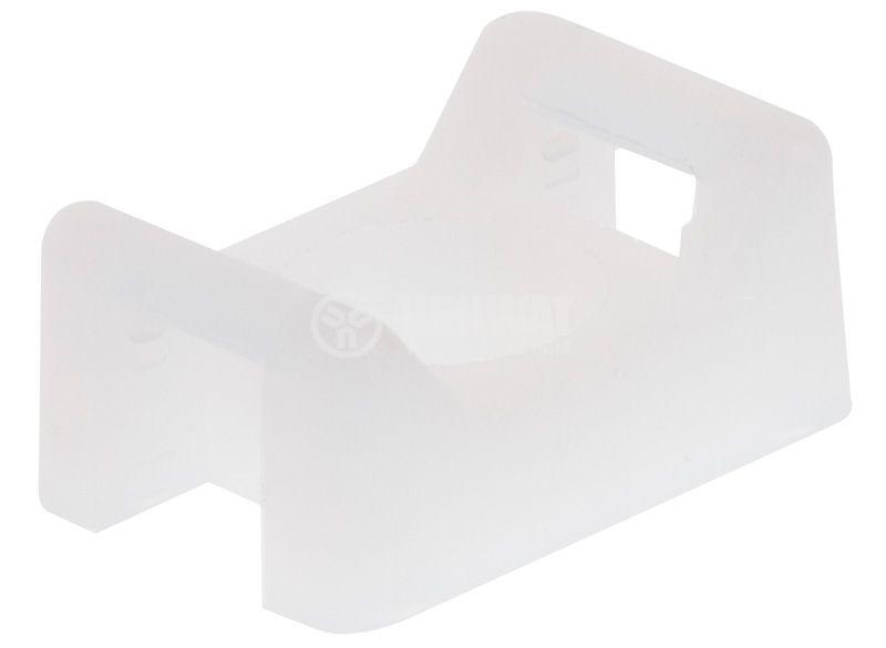 Държач за кабелни превръзки BMB0905 16x11x7mm с винт - 1