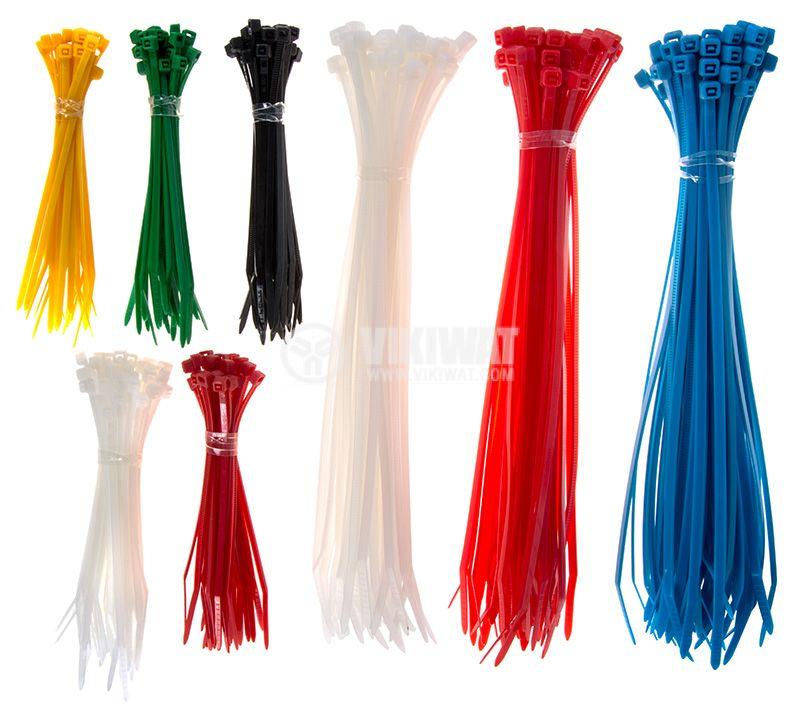 Комплект кабелни превръзки Commel 365-172  - 2
