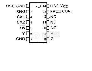 Интегрална схема 74LS624, TTL серия LS, VOLTAGE-CONTROLLED OSCILLATORS, DIP14 - 2