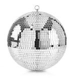 Огледална сфера (диско топка), ф100mm, металик