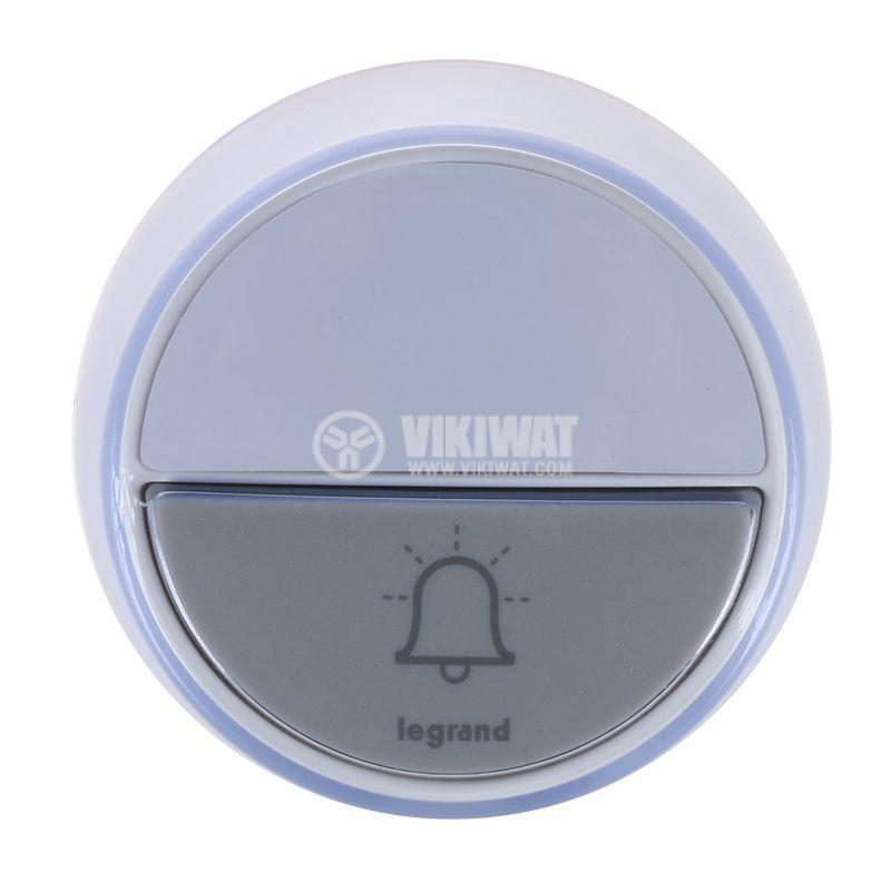 Безжичен бутон за звънец LEGRAND 94278 допълнителен IP44 - 1