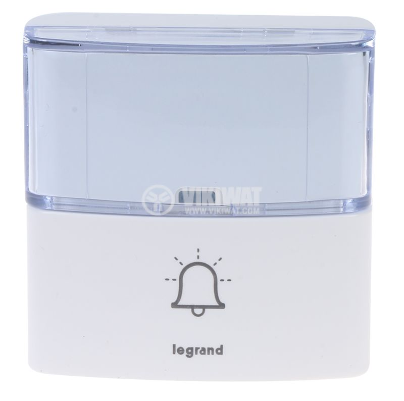 Безжичен бутон за звънец Serenity Legrand 094279 - 4