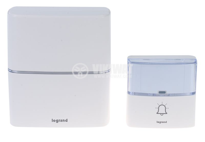 Wireless doorbell LEGRAND 94270 3xAA 80dB IP54 - 1