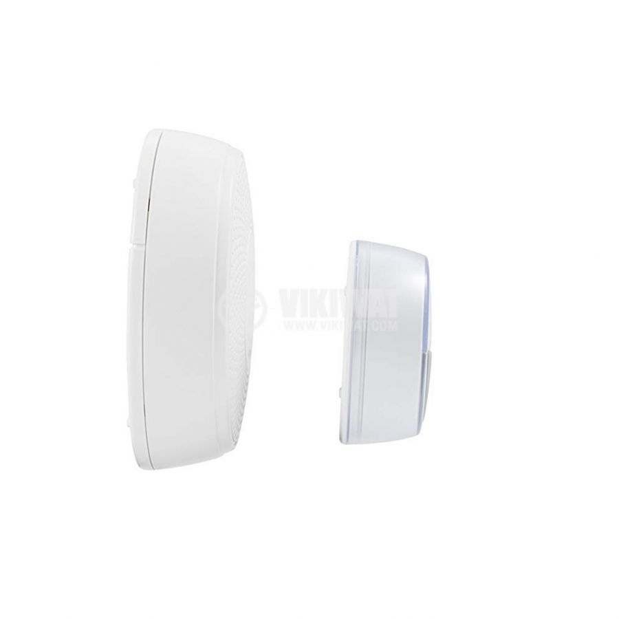 Doorbell 75dB IP44 white - 3