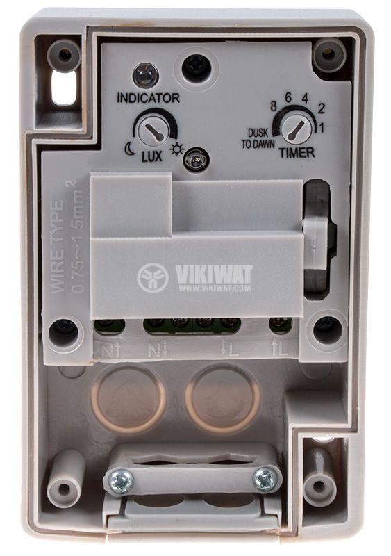 Фотоелектрически ключ с таймер - 3