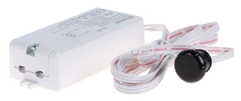 PIR шалтер сензор C311-205 110~240V 500W 120° 60mm IP20 - 1