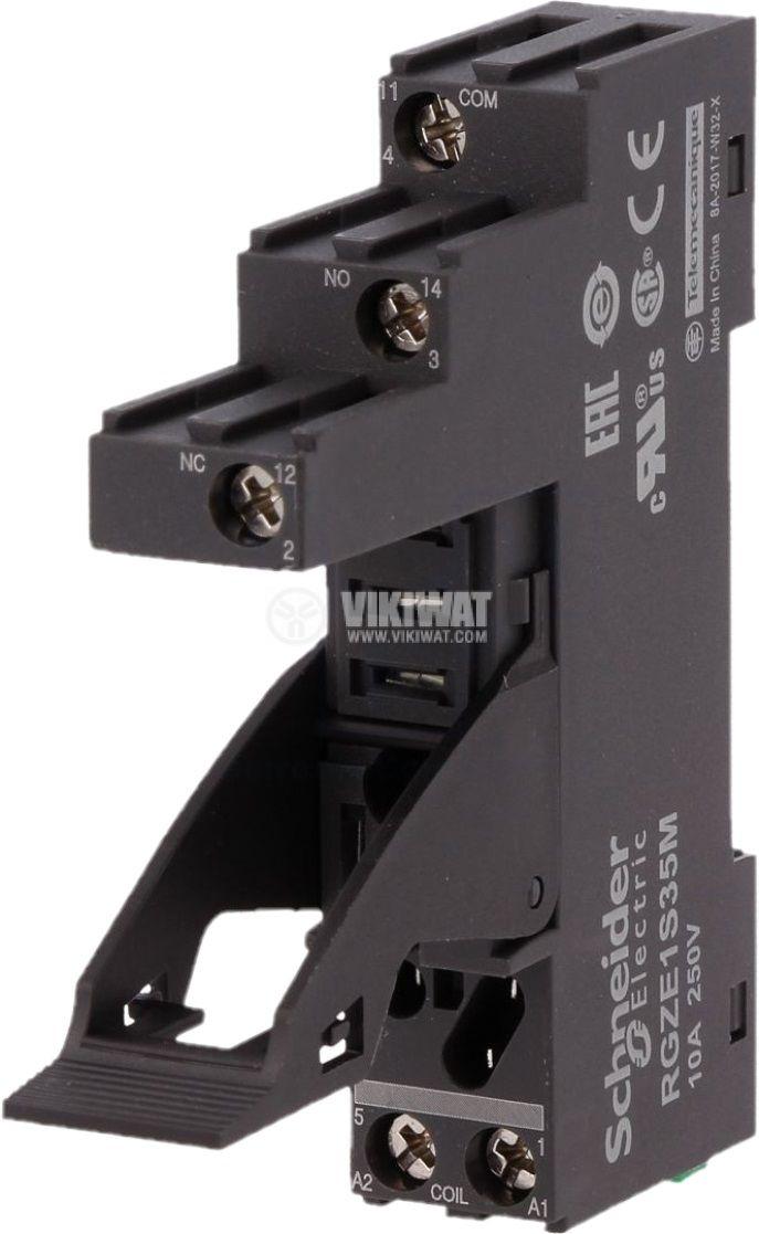 Цокъл за реле RGZE1S35M 5pin 10A/250V